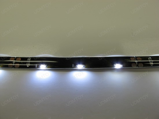 Audi R8 style LED strips
